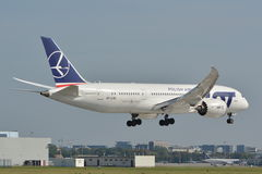 波音787-8 Dreamliner 库存照片