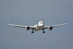 波音787-8 Dreamliner 库存图片