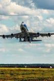 波音747-400F ABC 图库摄影