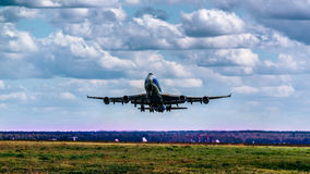 波音747-400F ABC 库存照片