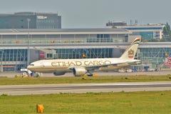 波音777-FFX 免版税图库摄影