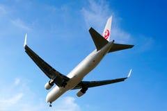 波音767-346 (JA621J) 免版税库存图片