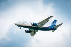 波音737-505 VP-BKV— Nordavia地方航空公司 免版税库存照片