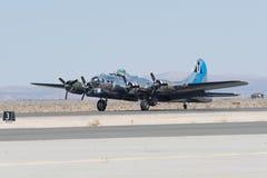 波音B-17显示的飞行堡垒 图库摄影