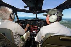 波音B-17飞行堡垒 图库摄影