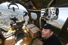 波音B-17飞行堡垒 免版税图库摄影