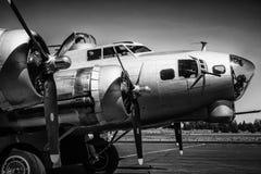 波音B-17飞行堡垒 库存图片