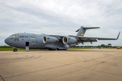波音C-17 Globemaster III运输航空器 库存图片