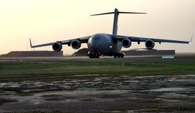 波音C-17 Globemaster RAAF汤斯维尔澳大利亚 免版税库存图片