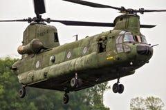 波音CH-47F契努克族运输直升机 库存图片