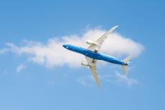 787波音dreamliner 免版税图库摄影
