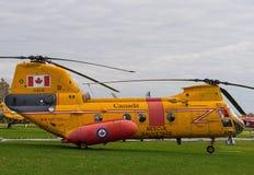 波音Vertol (拉布拉多)亦称直升机CH113 免版税库存照片