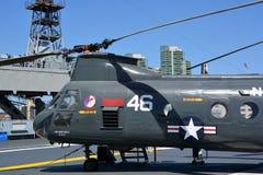 波音Vertol CH-46海骑士 库存图片