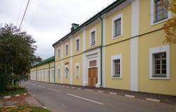 波洛茨克州立大学在秋天 免版税库存图片