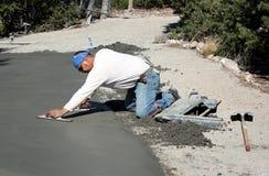 水泥修整机 免版税库存图片