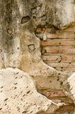水泥具体块墙壁纹理 库存照片