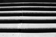 水泥台阶设计 免版税库存图片