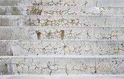 水泥台阶 免版税库存照片