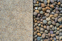 水泥和岩石底层 库存图片
