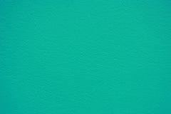 水泥墙壁纹理蓝绿色背景  免版税库存照片