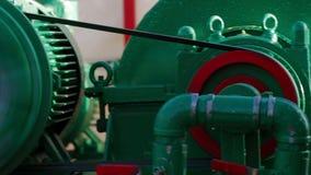 泥处理设备钻循环系统 影视素材