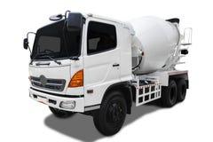 水泥搅拌车卡车 免版税库存图片