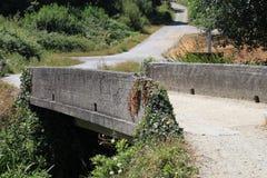 水泥桥梁 库存图片