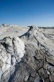 泥泞的土壤火山 免版税图库摄影