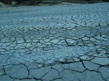 泥泞的沙漠 库存照片