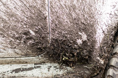 泥泞的车轮子曲拱 免版税库存图片