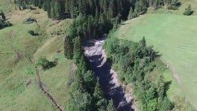 泥流, apls奥地利,萨尔茨堡 股票录像