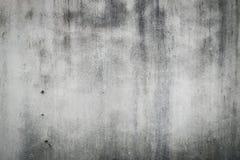 水泥混凝土墙纹理肮脏的概略的难看的东西 免版税库存图片