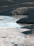泥火山 库存图片