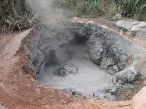 泥火山 免版税库存图片