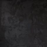 水泥灰浆黑色墙壁,具体纹理 库存照片