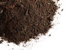 泥煤土壤 免版税图库摄影
