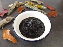 泥煤黏浆状物质浴疗法 免版税库存图片