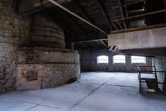 水泥生产窑烤箱 库存图片