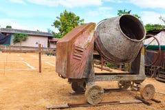 水泥磨房机器 库存图片