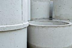 水泥管子 图库摄影