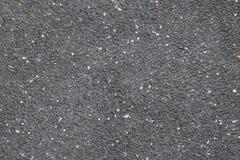 黑水泥纹理地板 免版税图库摄影