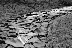 泥路 免版税库存照片