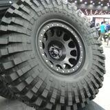 泥轮胎 免版税图库摄影