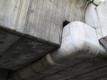 水泥连接点 免版税库存照片