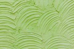 水泥绿色纹理墙壁 图库摄影