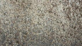 水泥破裂的墙壁 免版税库存照片