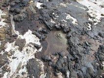 泥vulcanoes 库存照片