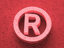 注册商标 免版税库存照片