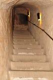 注册石头修造了隧道。 图库摄影