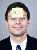 注意同意 免版税库存图片